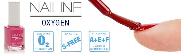 Nailine Oxygen Esmalte de Uñas Vitaminado