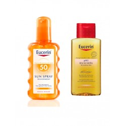 Eucerin Solar Spray Transparente FPS50+ 200ml