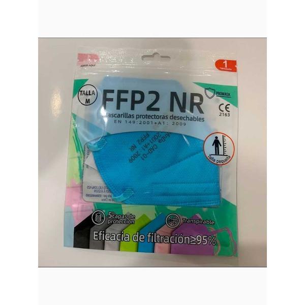 Mascarilla FFP2 Infantil Ruida Color (caja 50uds)