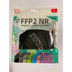 FFP2 Infantil Ruida Color: Negra