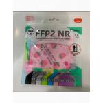 FFP2 Infantil Ruida Color: Fresa