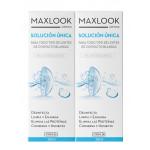 Maxlook Solución Única Para Lentes de Contacto Blandas Pack 2x360ml