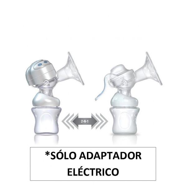 Nûby Natural Touch Adaptador Eléctrico para extractor de leche
